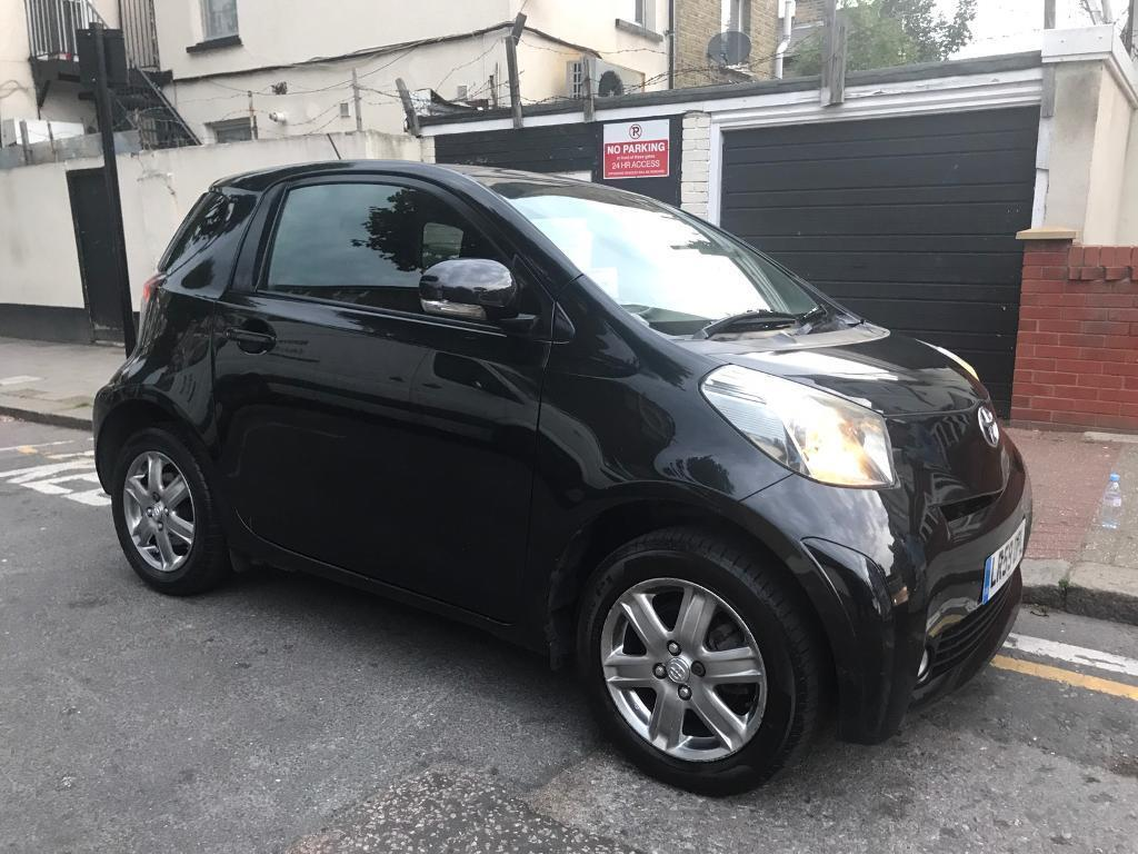 toyota iq vvt i 3 door 1 litre manual 2009 black xenons free road tax in newham london. Black Bedroom Furniture Sets. Home Design Ideas