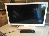Toshiba TV with DVD player