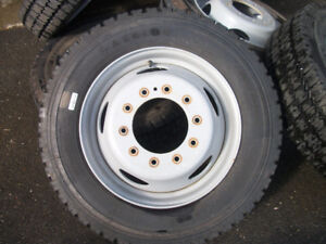 TIRES AND RIMS FOR FORD 450