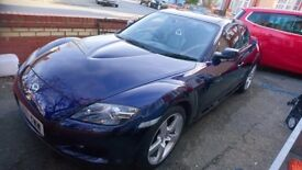 MAZDA rx8 231ps, posting for my mum contact number is for her, it's her car, Kenny will answer