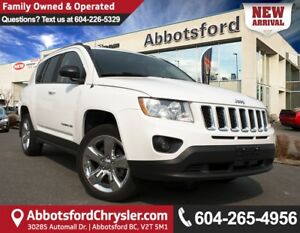 2012 Jeep Compass Limited LOCALLY OWNED!