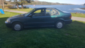 97 Honda Civic lx 5 speed 4 door