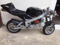 *50CC MIDI MOTO 2 STROKE BLACK SPARES&REPAIRS*