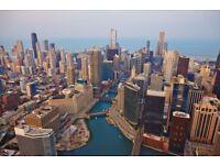 Return Flight London to Chicago £250- Was £560