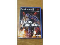Transformers Revenge of the Fallen PS2 game (second hand)