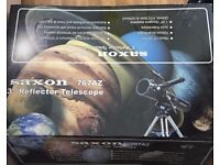 Saxon Reflector Telescope 767AZ, perfect first telescope.