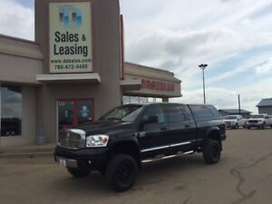 2008 Dodge Ram 3500 Laramie Diesel/LIFTED/Mega $29987