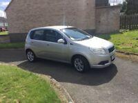 58 Chevrolet Aveo 1.2 silver 11 months mot low tax n insurance 5 doors £995
