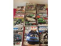 Bike and car magazines