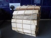 Roll of Kindling Firewood Logs suit Fires Woodburners - £3 bundle