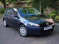 6 MONTH AA WARRANTY!!! 2009 VOLKSWAGEN GOLF 2.0 TDI CR S 5dr, LONG MOT, FSH,