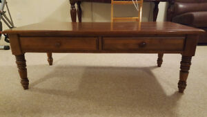 2 Pieces Coffee Table Set - Moderate Condition