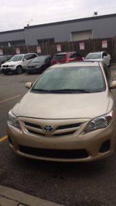 2013 Toyota Corolla finance available
