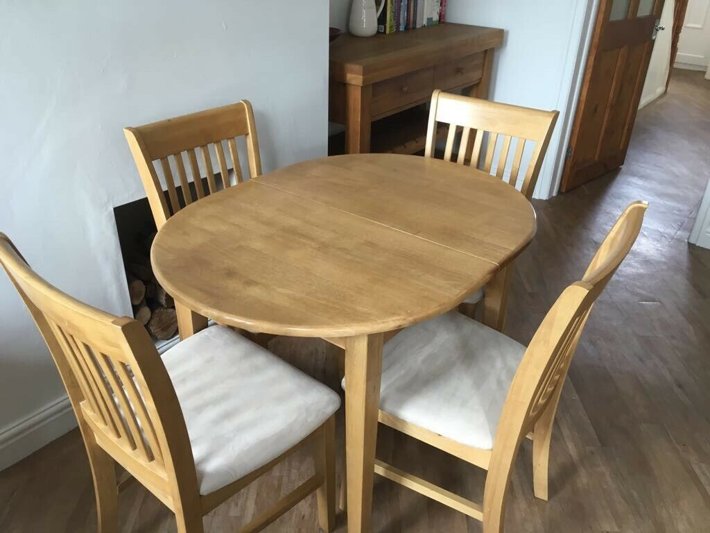 Homebase Dining Table 4 Chairs