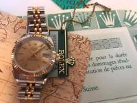 Rolex Ladies Bi Metal Datejust