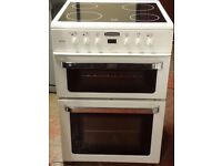Leisure 60 cm wide electric ceramic cooker