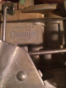 305-350 Rochester carb rebuilt/tested