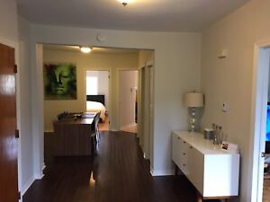Subleasing spacious 5 1/2  with parking in St Henri