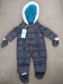 BNWT Ted Baker snowsuit boy's 3-6 months