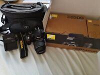 Nikon D3200 Camera Kit & Bag