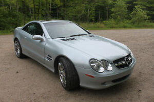 2004 Mercedes-Benz SL-Class 5.0L Coupe (2 door)