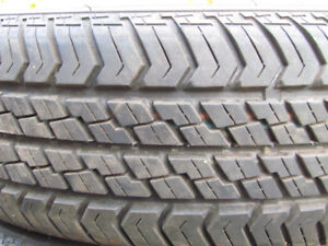 Set of 175/70/R13 All Season Tires.  Asking  $110.00 -  OBO