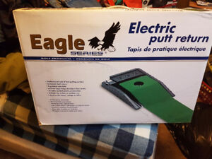 Eagle series electric Putt and return