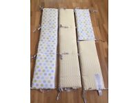 4 Sided reversible crib bumpers