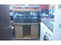 juwel vision 260ltr bow front 4ft tank and cabinet