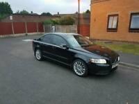 BLACK VOLVO S40