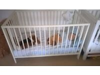 Home clearance- White wood Cot
