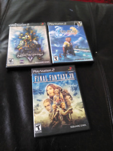 PS2 GAMES FOR SALE!