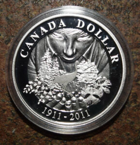 100th Anniversary of Parks Canada (2011) Silver Dollar