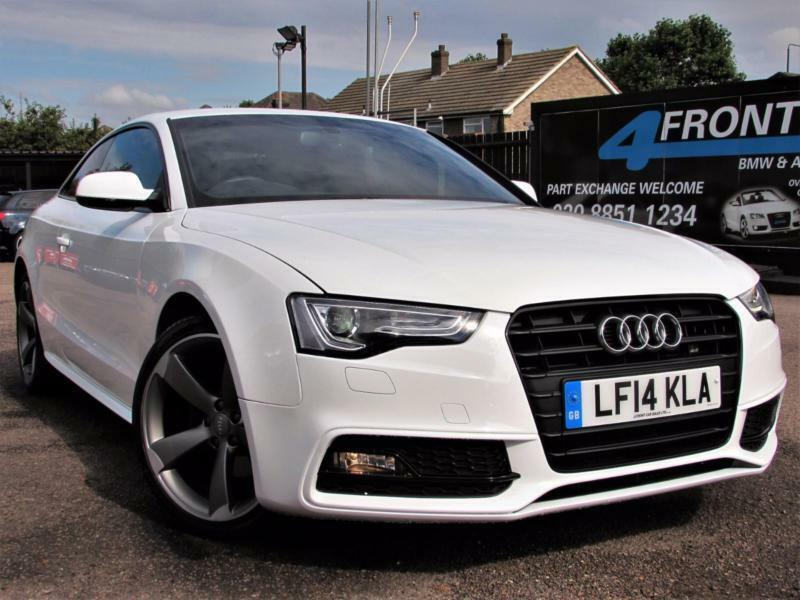 2014 AUDI A5 1.8 TFSI S LINE BLACK EDITION 2DR COUPE 6 SPEED MANUAL PETROL COUPE