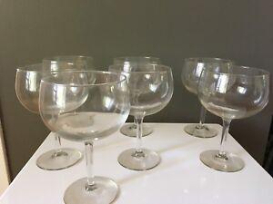 7 verres à cocktails
