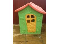 Clean colourful Wendy fairy playhouse