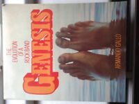 Genesis rock band history book