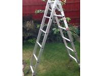 Small aluminium ladder