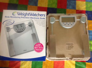 WeightWatchers body weighing scale