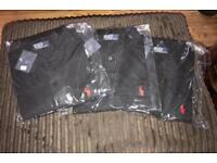 Ralphie polos large in black