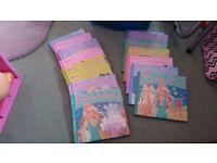 Barbie set of 15 hardback books. Excellent condition