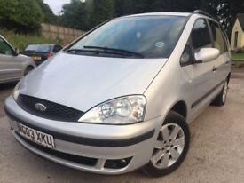 2003 FORD GALAXY 1.9 TDI ZETEC AUTOMATIC+12 MONTH MOT+FULL SERVICE HISTORY+102,000MILES+HPI CLEAR