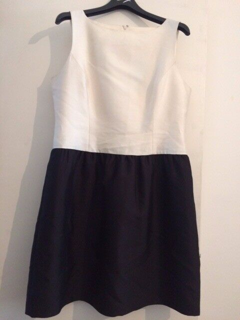 300986bf9a32 BRUCE BY BRUCE OLDFIELD FROM JOHN LEWIS TRIM DRESS SIZE 16 RRP£160 NEW