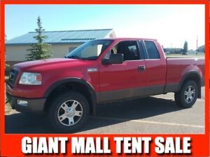 2004 F150 Supercab 4x4 FX4   **LEATHER-SUNROOF**