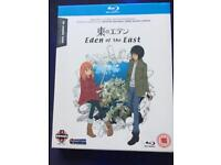 Blue ray Eden of the east