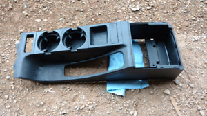 BMW E46 sedan center console cup and holder