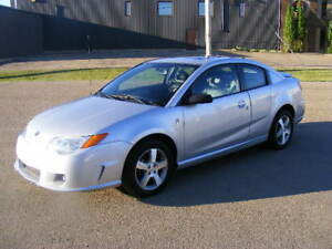 2007 SATURN ION--!!!70,500 KMS!!!-- LEATHER--SUNROOF--2.4 LITRE-