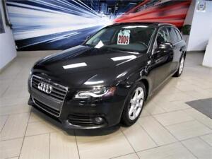 2009 Audi A4 QUATTRO/WAGON, TOIT PANORAMIQUE! 140$/2sem.