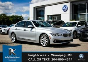 2016 BMW 3 Series 328i xDrive AWD w/ Nav/Sunroof/Backup Camera