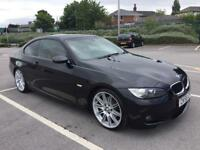 BMW 320D MSports 2008(58) Coupe **Auto+Sat/Nav +Red Leathers**